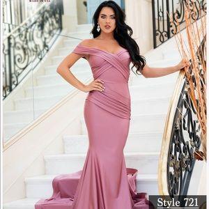 Bridesmaid Jessica Angel Dress